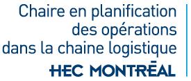 Chaire en planification des opérations dans la chaine logistique Logo